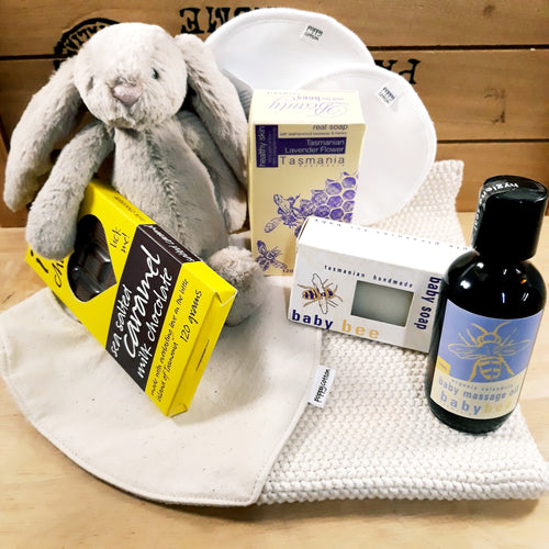 Mum and Baby Deluxe Hamper ~ Optional Tasmanian Wine
