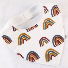 Load image into Gallery viewer, Cotton Baby Bib ~ Assorted Colours