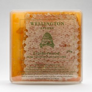 Tasmanian Leatherwood Honeycomb ~ Wellington Apiary