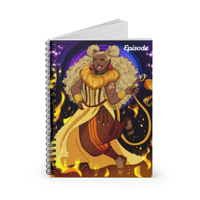 Leo Episode Spiral Notebook