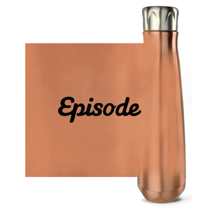 Black Episode Logo Water Bottles