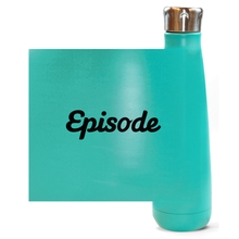 Load image into Gallery viewer, Black Episode Logo Water Bottles