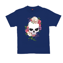 Load image into Gallery viewer, Floral Skull Tee
