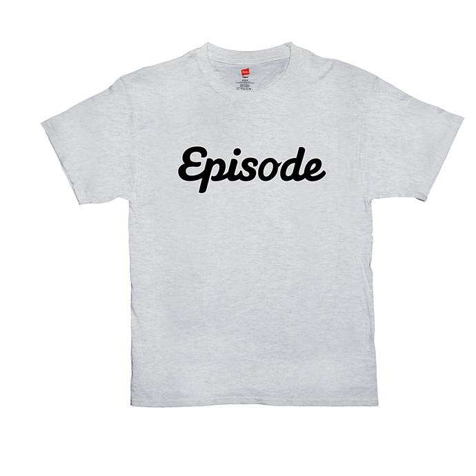 Episode Black & White Logo Tee