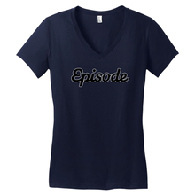 Load image into Gallery viewer, Episode Black & White Logo V-Neck Tee