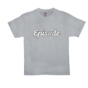 Episode White & Black Logo Tee