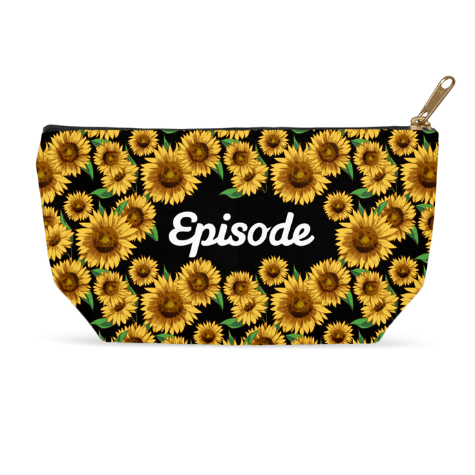 Episode Sunflowers Makeup Bag
