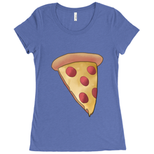 Load image into Gallery viewer, Eat_Pizza Scoop Neck Tee