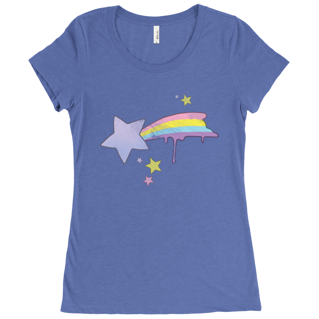 Shooting Star Scoop Neck Tee
