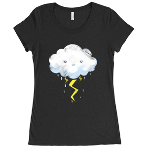 Stormy Day Scoop Neck Tee