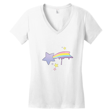 Load image into Gallery viewer, Shooting Star V-Neck Tee