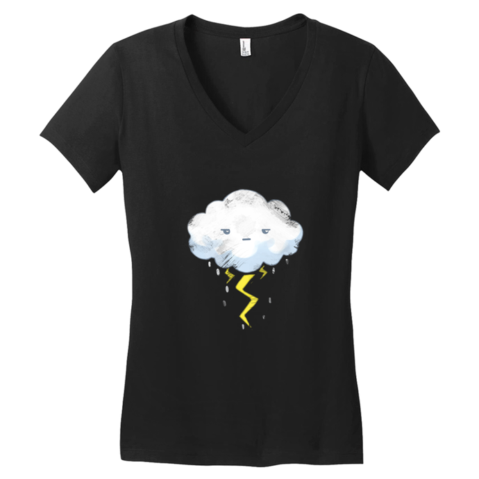 Stormy Day V-Neck Tee