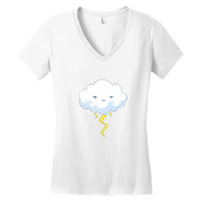 Load image into Gallery viewer, Stormy Day V-Neck Tee