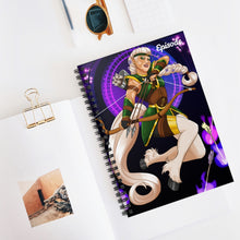 Load image into Gallery viewer, Sagittarius Episode Spiral Notebook