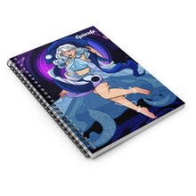 Load image into Gallery viewer, Pisces Episode Spiral Notebook