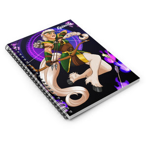 Sagittarius Episode Spiral Notebook