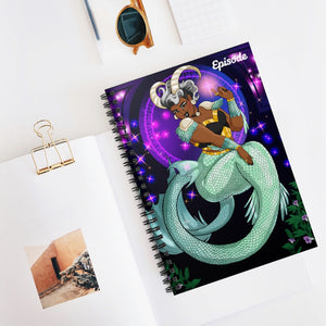Capricorn Episode Spiral Notebook