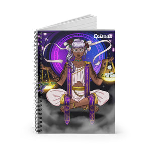 Libra Episode Spiral Notebook