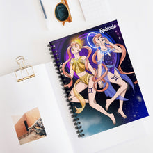 Load image into Gallery viewer, Gemini Episode Spiral Notebook