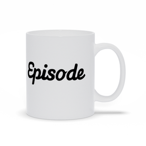 Episode Logo Mug - White