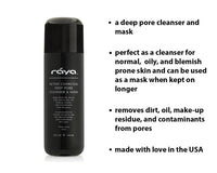 ACTIVE CHARCOAL DEEP PORE CLEANSER & MASK (121) - rayaspa