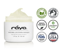 NATURAL LECITHIN MASQUE (601) - rayaspa