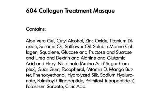 COLLAGEN TREATMENT MASQUE (604) - rayaspa