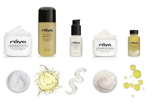 RAYA OILY SKIN CARE KIT (K-3) - rayaspa