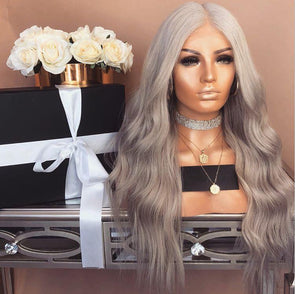 platinum bob wave Wig