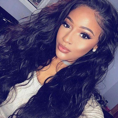 "24"" Long Body Wavy Full Wig"