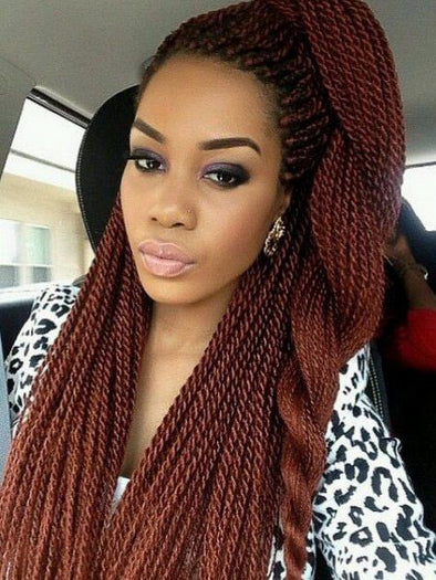 Braided Wigs Lace Frontal Hair Casual Hairstyles Mohawk Hairstyle 2018 Big Single Braids Body Wave Braiding Hair Human Hair Curly Ponytail