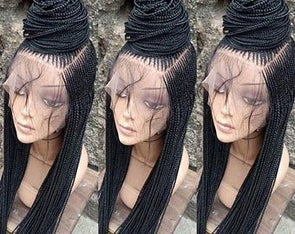 Human Wigs African American Pastel Pink Lace Front Wig Long Black Wig Human Hair Braided Wigs For Sale Full Closure Wig Full Lace Wigs Transparent Lace