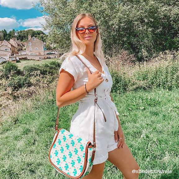 Healing Garden Crossbody Bag with @shedot.travels
