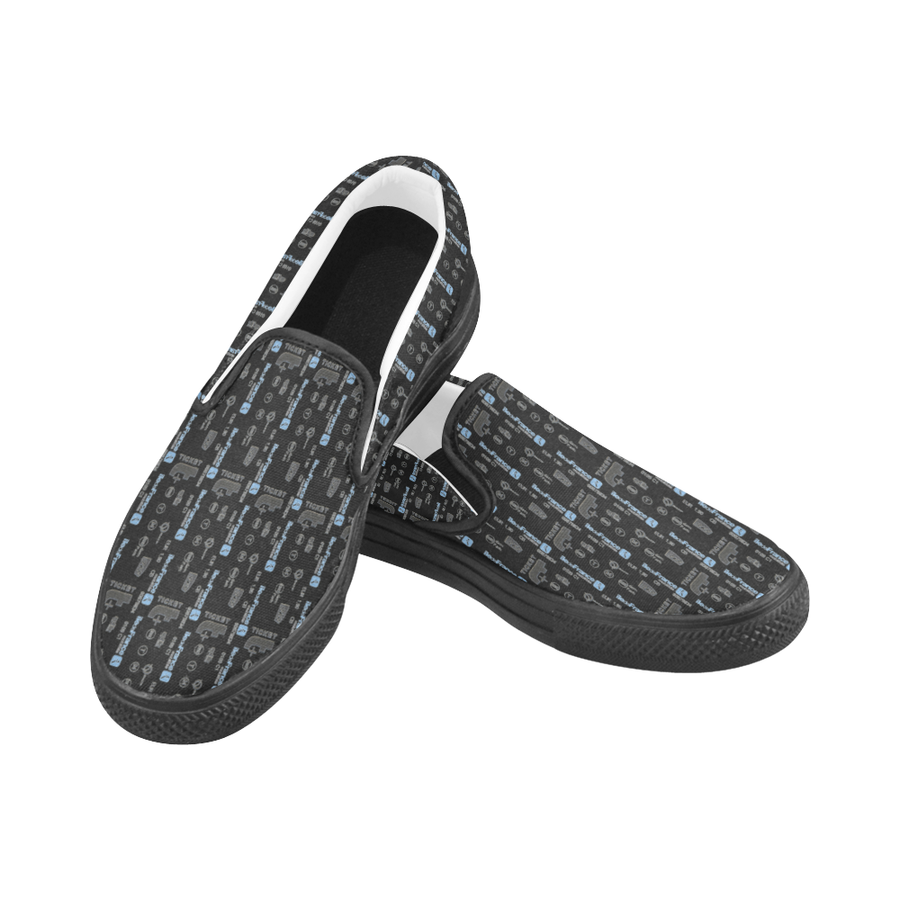 Women's Casual Slip-on Canvas Loafer Shoes: Metro Ticket