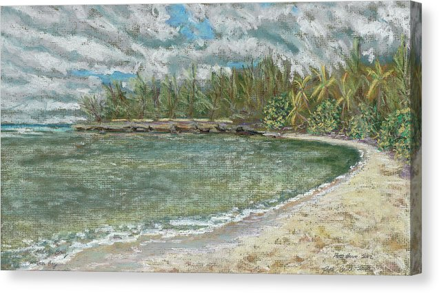 Kawela Bay: Canvas Print