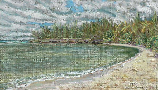Kawela Bay Hawaii Beach - Archival Print