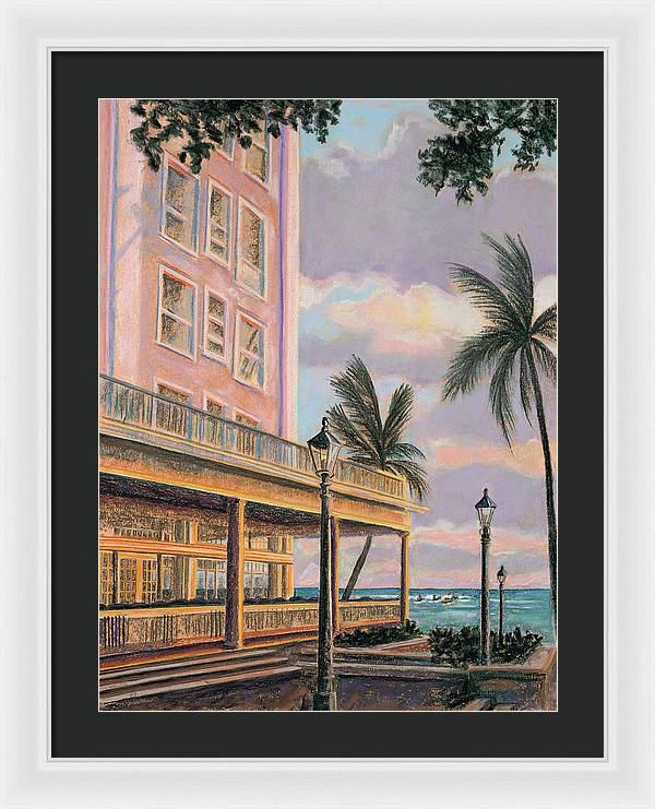 Moana at Sunset: Framed Print