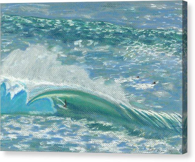 Wave Rider: Canvas Print