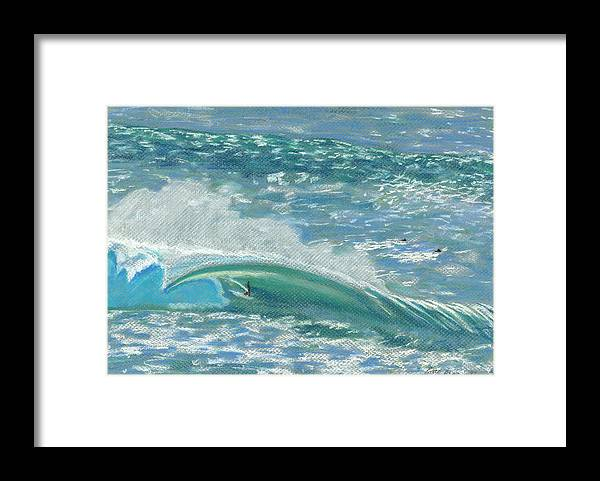 Wave Rider: Framed Print