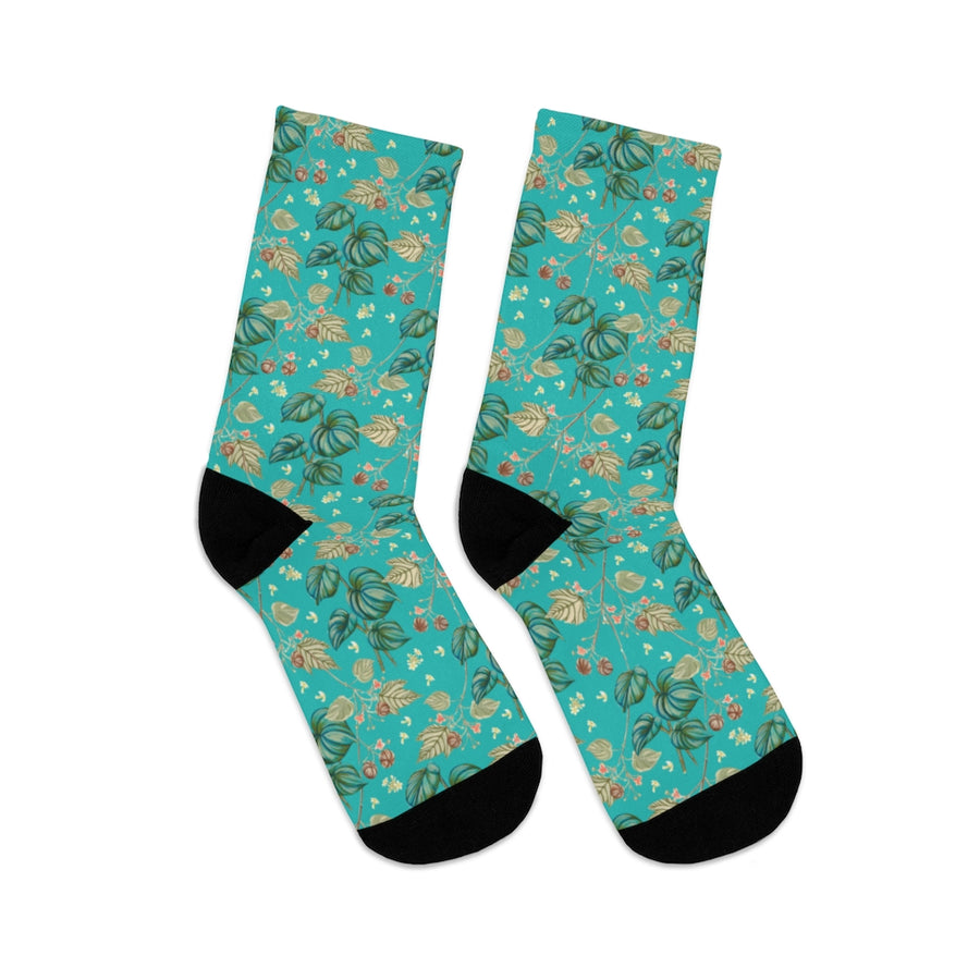 Women's Socks: Tropical Hawiian Healing Garden