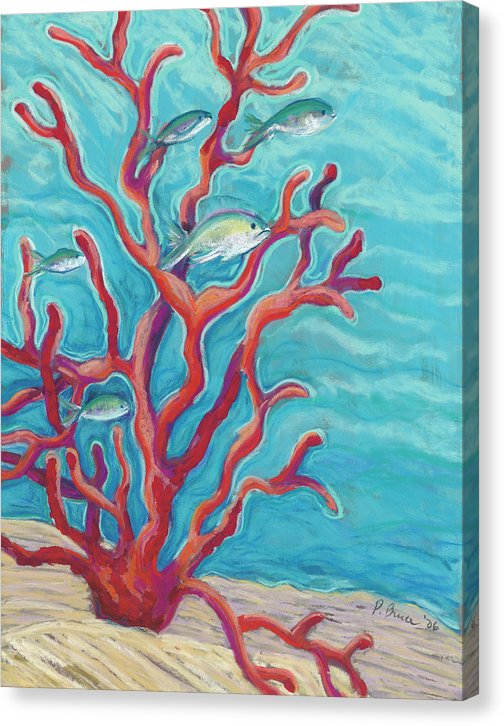 Coral Assets - Tropical Fish & Coral - Canvas Print