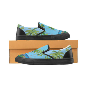 Men's Casual Slip-on Canvas Loafer Shoes: Kaimana Beach