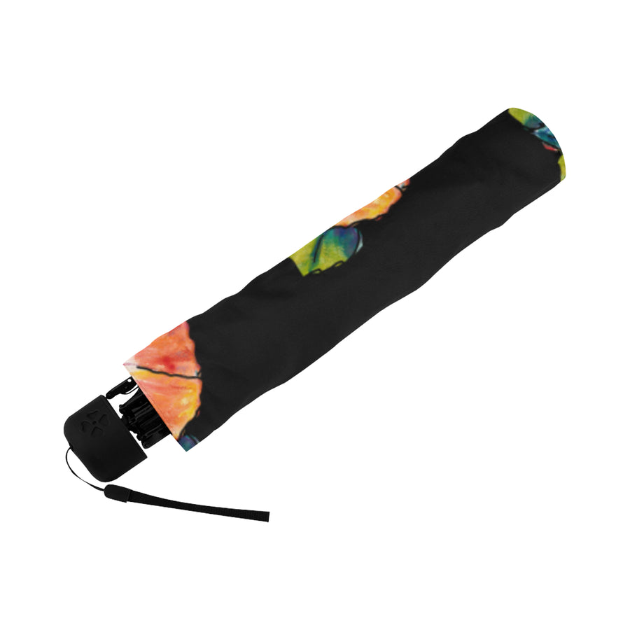 Underside Print Umbrella: Circle of Aloha