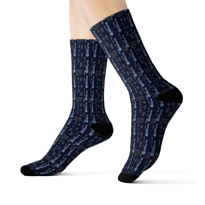 Men's Socks: Metro Ticket