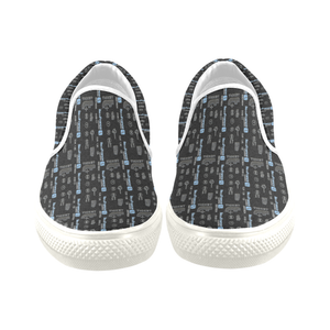 Men's Casual Slip-on Canvas Loafer Shoes: Metro Ticket
