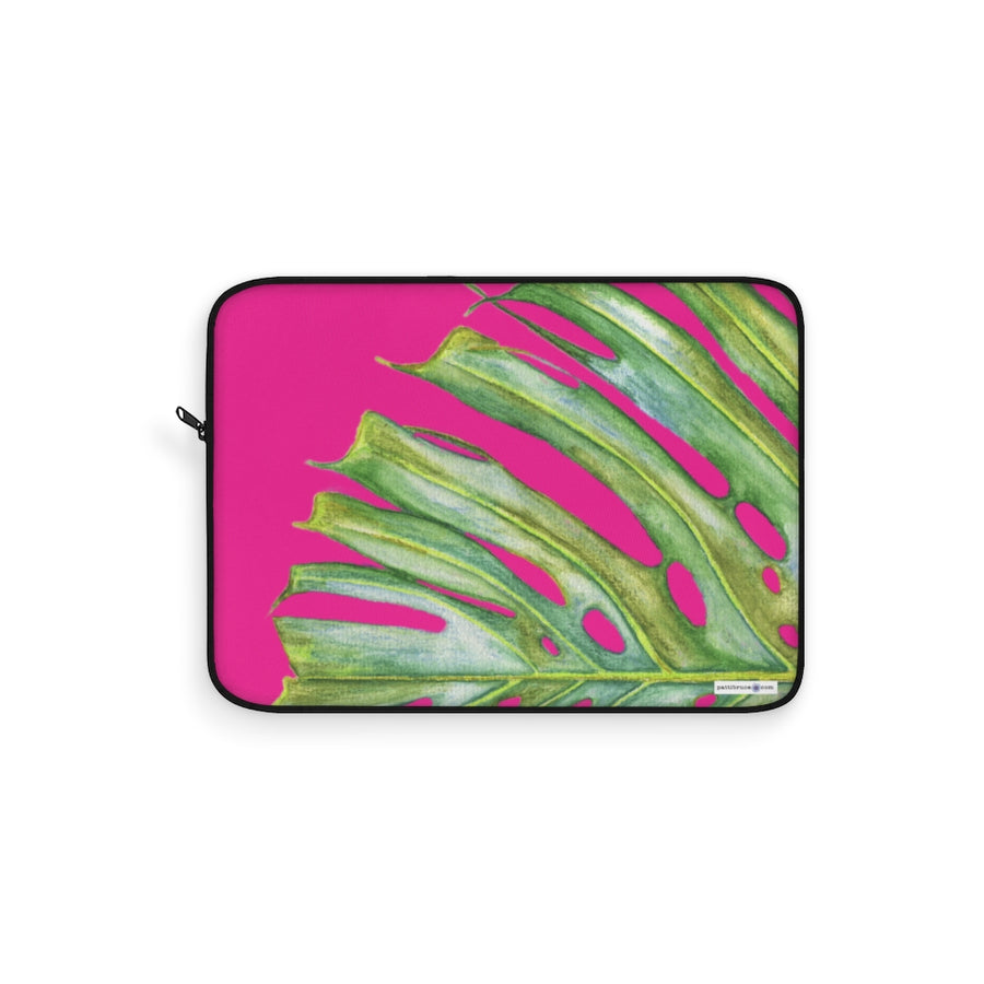 Laptop Sleeve: Monstera Edge
