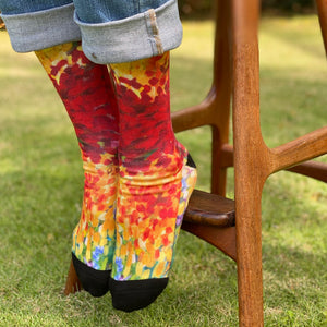 Women's Socks: Ginger Boom!