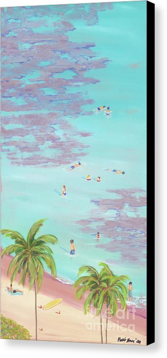 A Little Slice of Paradise: Canvas Print