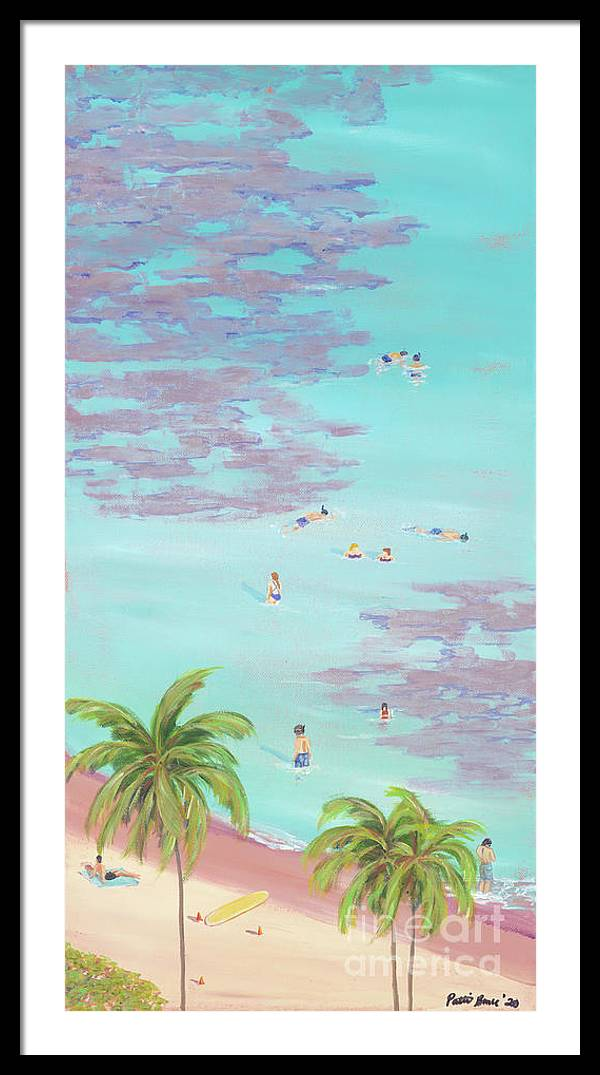 A Little Slice of Paradise: Framed Print