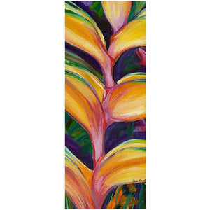 Yoga Mat: Heliconia